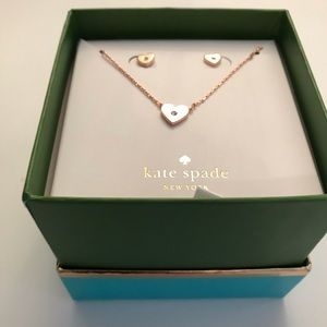Kate Spade Necklace and Earings